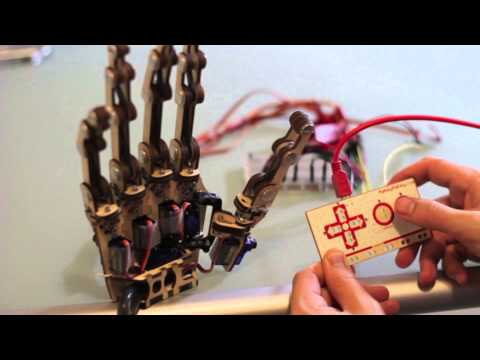 MaKey MaKey + Roy the Robot s Hand