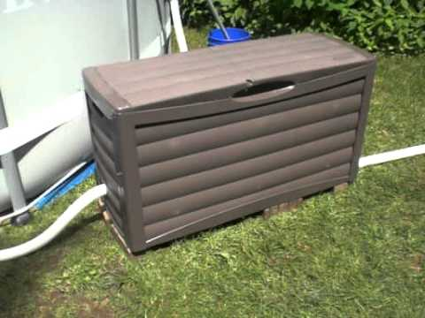 Intex metal frame above ground pool installation setup review 48