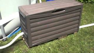 Intex Ultra frame above ground pool installation setup review 48 x 16' salt water system
