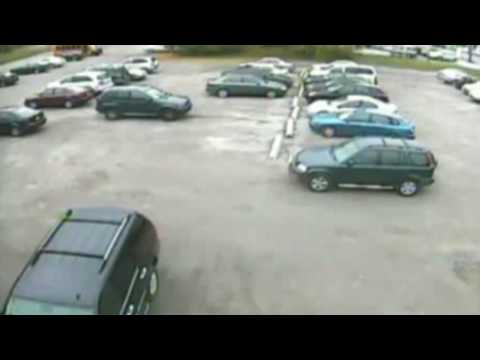 Terrible BMW Parking Job Wrecks Two Cars Video