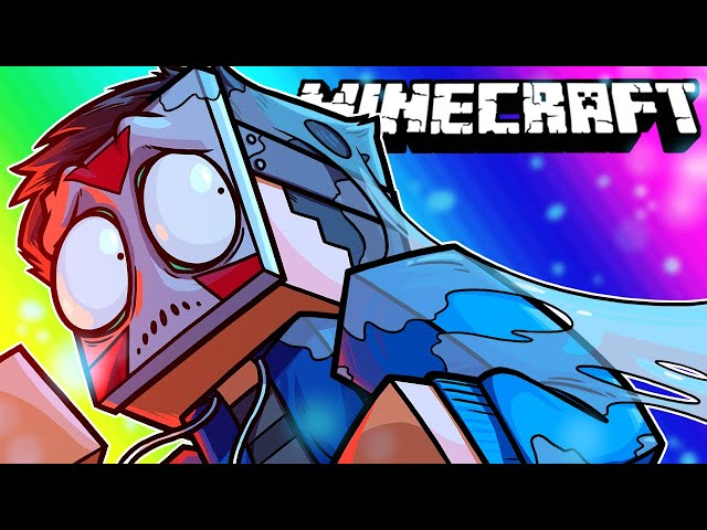 Minecraft Funny Moments - Saving Delirious from the Upside-Down!