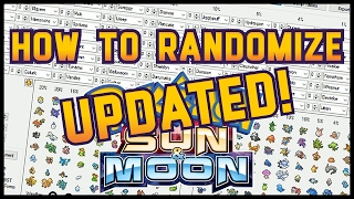 How to RANDOMIZE Pokemon Sun and Moon! UPDATED!