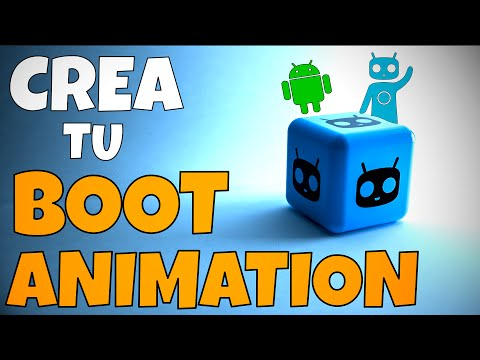 CREA TU PROPIO BOOT ANIMATION Con Boot Animation Creator.