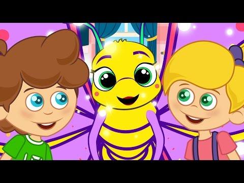 Çocuk Şarkıları - Tatlı Kelebek | Sevimli Dostlar Çizgi Film Bebek Şarkıları | Yaygara TV Çocuk Şark