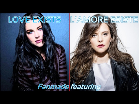 Francesca Michielin ft. Amy Lee - L'amore esiste / Love exists [Fanmade]