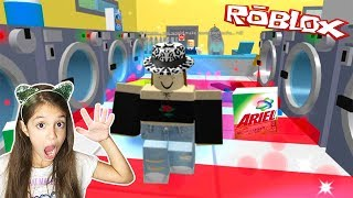 ESCAPE THE LAUNDROMAT OBBY - Roblox Obby