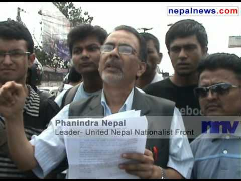 Unified Nepal Nationalist Front protests against 1950's Nepal-India treaty