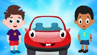 Baby Car Transformation Rescued by Red Super Car Rikki | Kids Cartoon songs and Rhymes