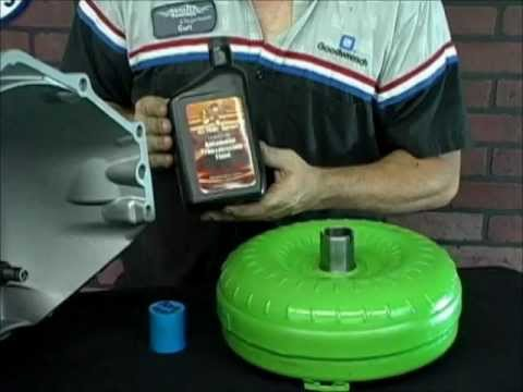 How to Install a Torque Converter in a 4l60e Transmission