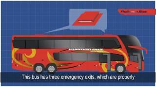 Video de Bienvenida y Seguridad Pullman Bus