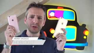 iPhone 6s e iPhone 6s Plus: unboxing e prime impressioni da HDblog.it