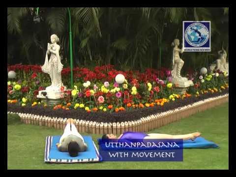 Utthanpadasana with movement