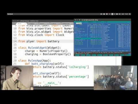 Kivy: Интерактивные приложения для Андроида и других платформ