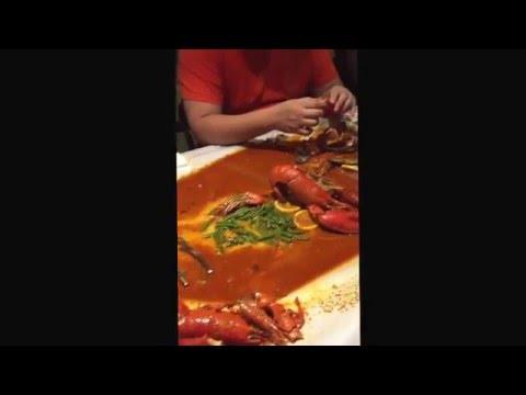 Seafood dinner ala-ala Shell Out di Crab Hut Asia, Cyberjaya.
