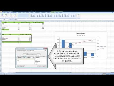 Tutorial - Como fazer gráfico com barras e linhas no excel