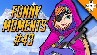 Overwatch FUNNY MOMENTS #43 - Highlights Montage