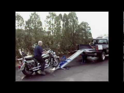 Cruiser Caddie Motorcycle Ramp