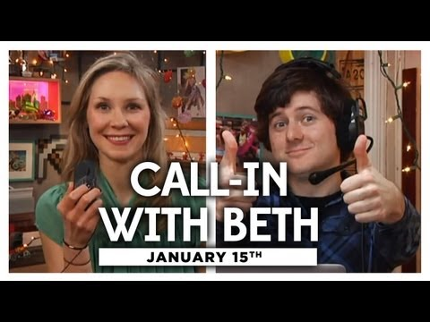 Hangout with Beth Live - 1/15/13