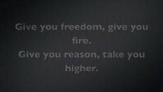 Give me freedom give me fire