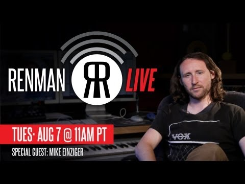 Mike Einziger of Incubus on Renman Music&Business - Tues. Aug 7th