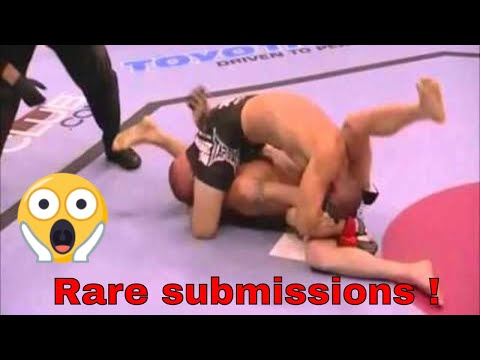 Chris Lytle double submission reverse triangle & armbar