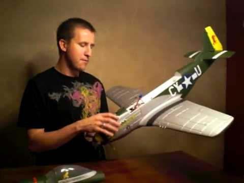 REVIEW: PARKZONE P-51 MUSTANG RTF GUNFIGHTER BRUSHLESS