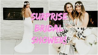 MY SURPRISE BRIDAL SHOWER! BEST DAY EVER!