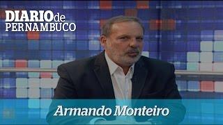 Candidato Armando Monteiro participa de sabatina no Jornal da Clube