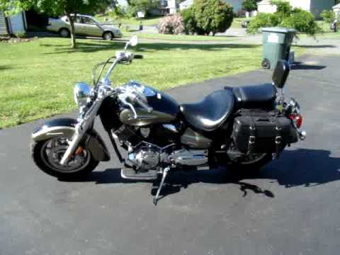 2005 Yamaha V-Star 1100 Classic - For Sale $5900 Video