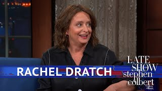 Rachel Dratch Talks Improv Over Red Wine with Colbert