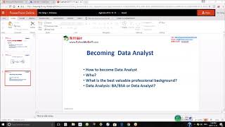 Yang Bin(杨斌)---为什么你成不了,数据分析师? (How to become Data Analyst?)