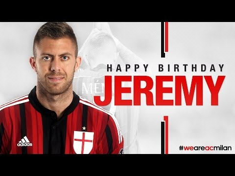 Buon Compleanno Menez, Happy Birthday Jeremy! | AC Milan Official