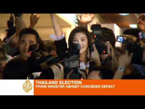 Thai opposition wins by landslide