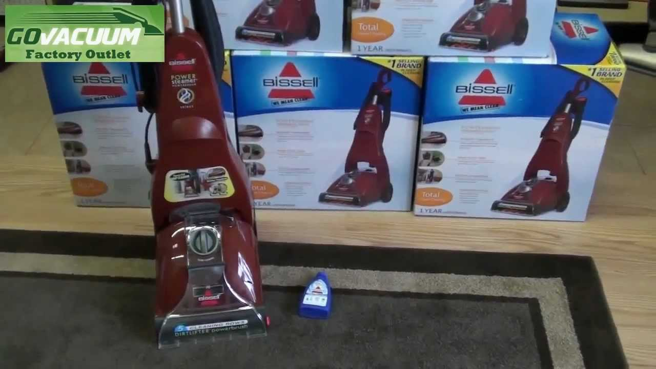 Bissell PowerSteamer Model 1623 Unboxing Deal Video - YouTube