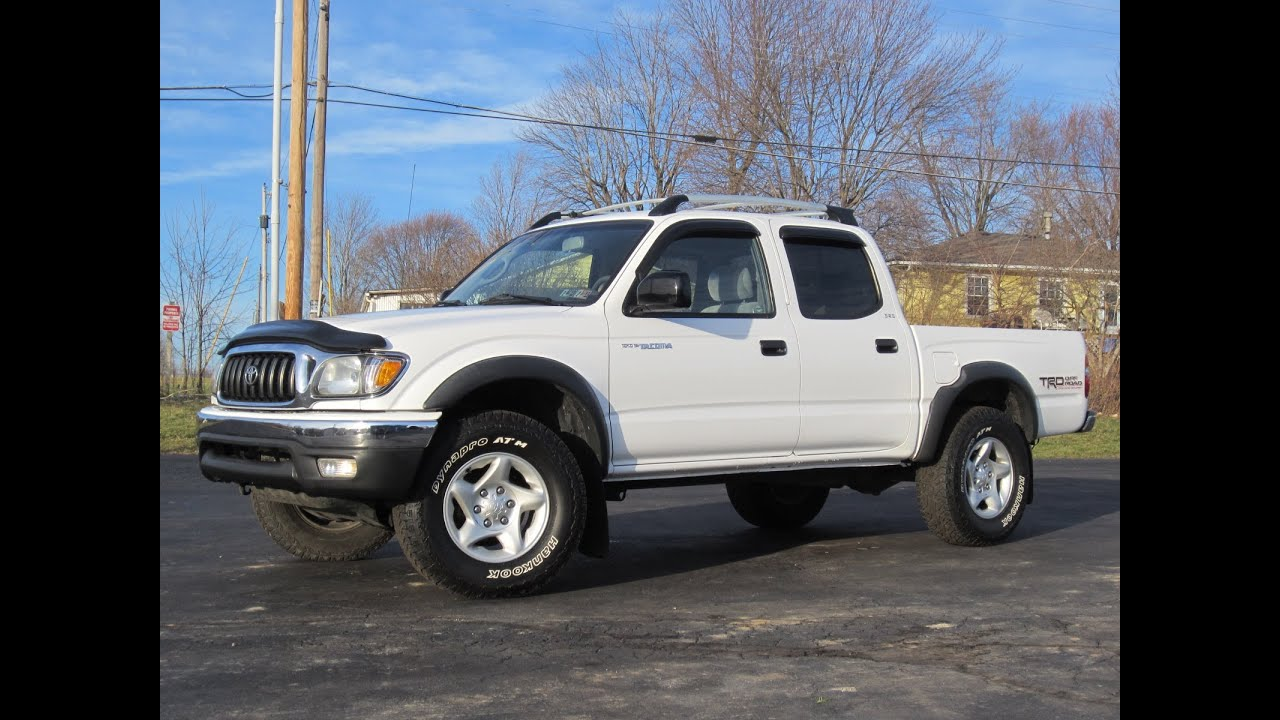 2003 Toyota Tacoma Sr5 Trd 4x4 Sold Youtube