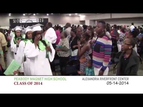 PEABODY MAGNET HIGH SCHOOL GRADUATION - CLASS OF 2014