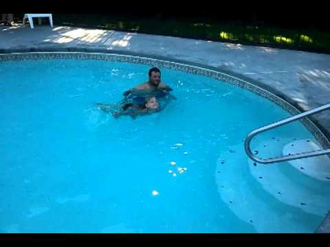 Ava Swimming video