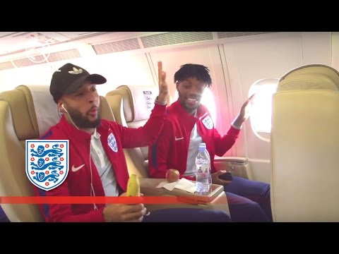 Redmond & Chalobah on song in sync - England U21s fly to France | Inside Access
