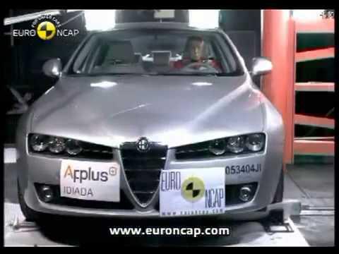 Alfa Romeo 159 2006 Euro NCAP, краш-тест