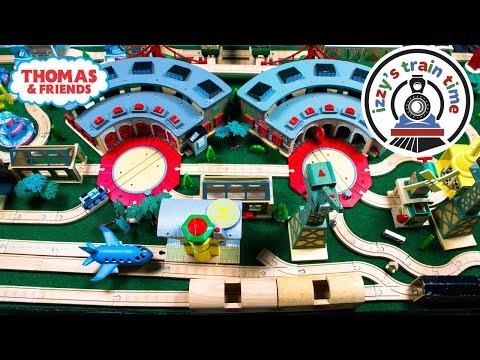 Thomas and Friends DOUBLES WOODEN TRACK! Fun Toy Trains for Kids | Thomas Train with Brio