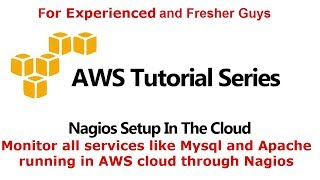 Nagios setup in the cloud and monitor AWS EC2 resources on Nagios
