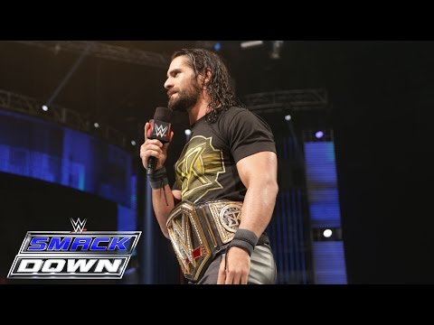 Seth Rollins responds to the return of Brock Lesnar: SmackDown, June 18, 2015