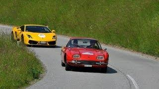 Lamborghini 350 GT vs. Gallardo LP 550-2 - AutoEmotionenTV