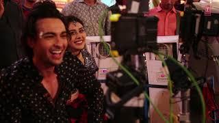 Making Of Dholida Audio Loveyatri Aayush Sharma Warina Hussain