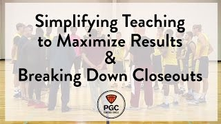 Simplify Teaching & Breaking Down Closeouts   PGC Coaches Circle   Powered by Team Snap