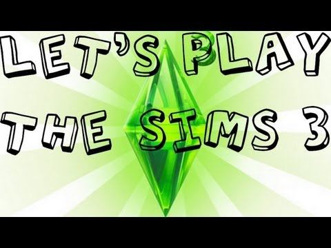 Lets Play The Sims 3 - Part 3 - We work towards getting promoted...... in a unusual way =D