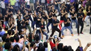 Flashmob at Mumbai's Churchgate Station