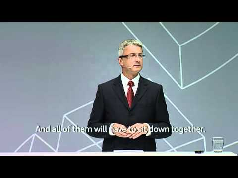 Audi Urban Future Summit: Rupert Stadler, Audi Board of Management