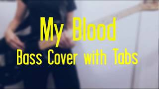 My Blood - Bass Cover with Tabs - twenty one pilots