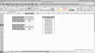 Microsoft Excel Functions Tutorials